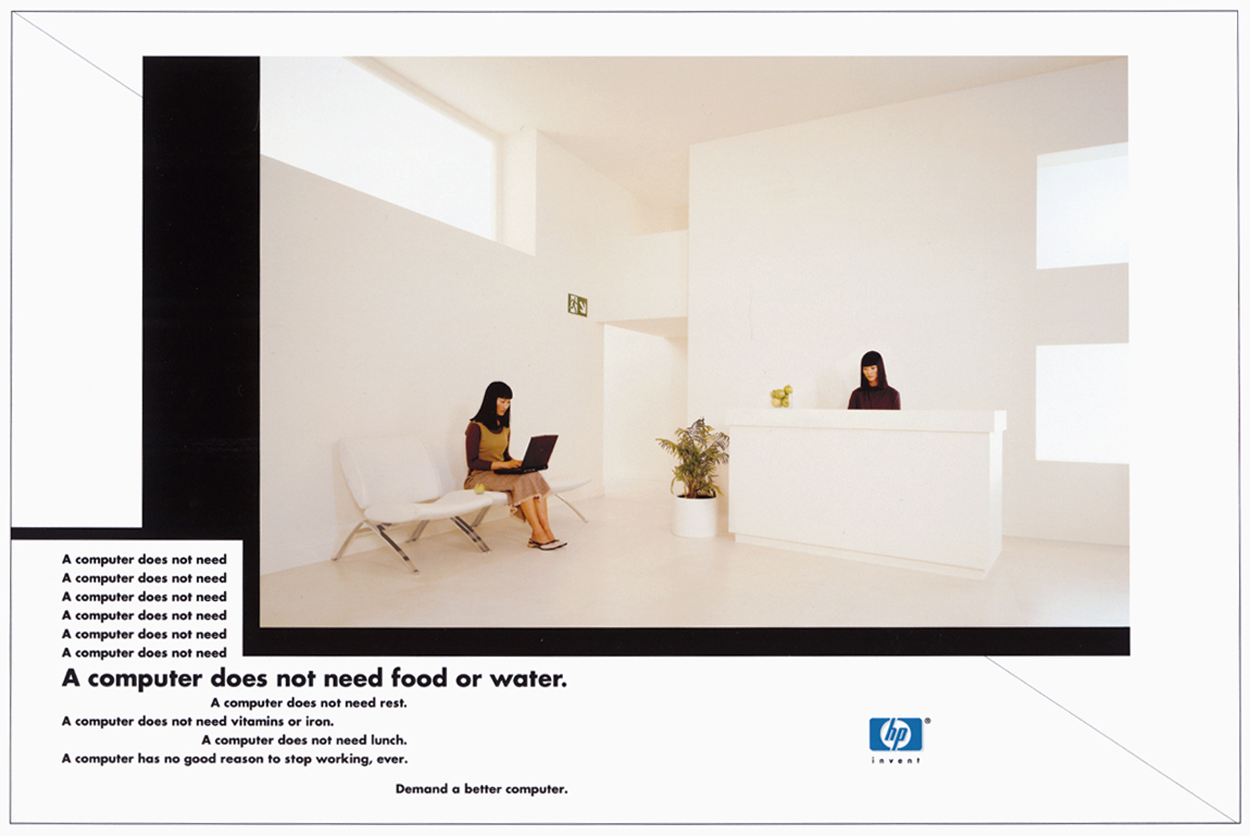 Setbuild UK, Advertising Campaign Set Construction, Hewlett Packard