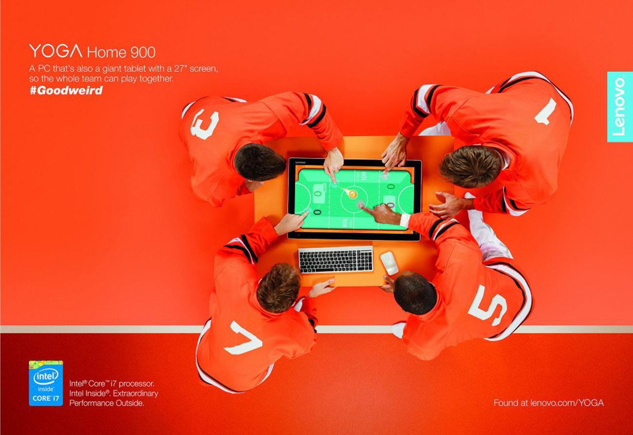 Setbuild UK, Advertising Campaign Set Construction, Lenovo